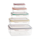Memory Seal Silicone 10 Pc Storage Set by Homestyle Kitchen, One Size