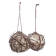 Grapevine Globe Hummingbird Nesters , Set of 2, One Size