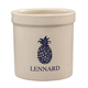 Personalized Blue Pineapple Ceramic Crock, 2 qt., One Size