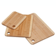 Bamboo Cutting Boards, Set of 3, One Size