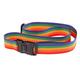 Rainbow Luggage Strap, One Size