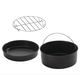 Set/4 Air Fryer Cooking Set by Home Marketplace