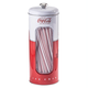 Coca Cola Tin Straw Dispenser, One Size