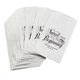 Personalized Wedding Favor Treat Bags, Set of 12, One Size