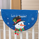 Snowman Bunting, One Size