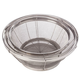 Home Marketplace Set/3 Stainless Steel Mesh Colanders, One Size