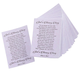 Pastel Memorial Pocket Cards 40, One Size