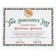 Personalized Santa Naughty List Certificate, One Size