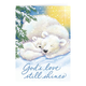 Light of Christ Christmas Card Set of 20 No Personalization