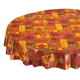 Falling Leaves Blessings Vinyl Table Cover, One Size