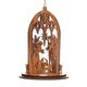 Wood Nativity Scene Ornament, One Size