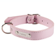 Personalized Pink Dog Collar, One Size