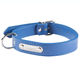 Personalized Blue Dog Collar, One Size