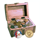St. Nick's Treasure Chest, One Size