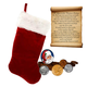 The Legend of the Christmas Stocking Coin Collection, One Size