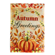 Autumn Greetings Garden Flag, One Size