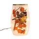 Harvest Chickadees Lighted Hurricane, One Size