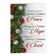 Peace, Hope, Christ Christmas Card Set of 20 Card Only Personalization