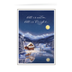 Serene Christmas Card Set of 20 Card and Envelope Personalization
