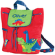 Personalized Stephen Joseph Dinosaur Quilted Backpack, One Size