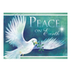 Peace Dove Christmas Card Set of 20 Card Only Personalization