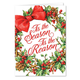 Tis the Reason Christmas Card Set of 20 Card and Envelope Personalization