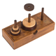 Professor Puzzle The Tower Of Hanoi Wooden Puzzle, One Size