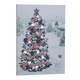 Patriotic Tree Lighted Canvas by Holiday Peak™, One Size