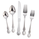 William Roberts French Floral 45 PC Flatware Set