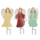 Metal Angel Stakes, Set of 3 by Fox River Creations™, One Size