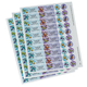 Personalized Butterflies Labels & Seals 60, One Size