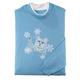 Kitten with Snowflakes Sweatshirt by Sawyer Creek