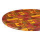 Falling Leaves Blessings Elasticized Table Cover, One Size