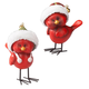Resin Cardinal Statues, Set of 2, One Size