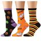 Women's Halloween Socks Set of 3, One Size