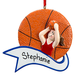 Personalized Basketball Ornament, One Size