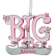 Personalized Big Sister Ornament, One Size