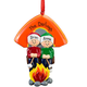 Personalized Camping Family Ornament, One Size