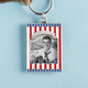 Patriotic Photo Keychain