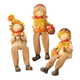 Scarecrow Shelf Sitters, Set of 3, One Size
