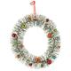 Vintage Bottle Brush Wreath by Holiday Peak™
