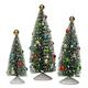 Nostalgic Christmas Trees Set of 3 Holiday Peak™, One Size