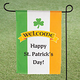 Personalized Irish Pride Garden Flag