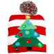 Lighted Christmas Tree Hat, One Size
