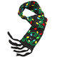 Lighted Christmas Bulb Scarf, One Size