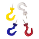 Push Pin Wall Hooks Pack of 50, One Size