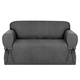 Kathy Ireland Evening Flannel Loveseat Slipcover, One Size