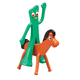 Gumby and Pokey Bendable Set