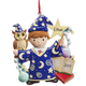 Personalized Wizard Ornament, One Size