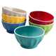 Assorted All Purpose Bowls, Set of 6, One Size